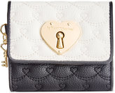 Betsey Johnson Boxed Swag Heart French Wallet, A Macy's Exclusive Style