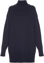 Jil Sander High-neck tunic sweater