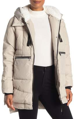 Bagatelle Faux Shearling Lined Parka Jacket