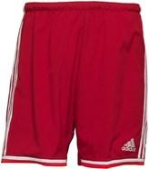 adidas Mens Condivo 14 3 Stripe ClimaCool Training Shorts University Red/White