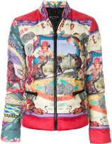 Etro circus print padded jacket