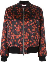 Givenchy printed bomber jacket - women - Cotton/Polyamide/Spandex/Elastane/Wool - 40