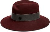 Maison Michel Virginie showerproof fur-felt hat
