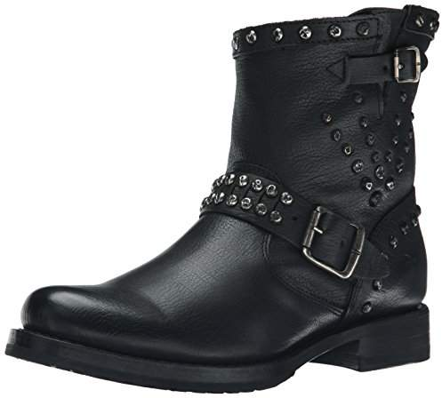 Womens Studded Moto Boots Shopstyle