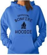 TeeStars - Funny Camping Gift - Official Bonfire Women Hoodie
