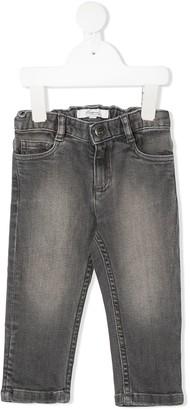 Bonpoint Washed Straight-Leg Jeans