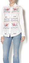3J Workshop Serena Peplum Shirt