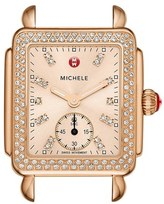 Michele 'Deco 16 Diamond' Watch Case, 29mm x 31mm
