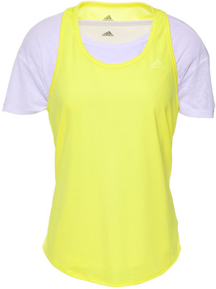 adidas Layered Neon Stretch T-shirt