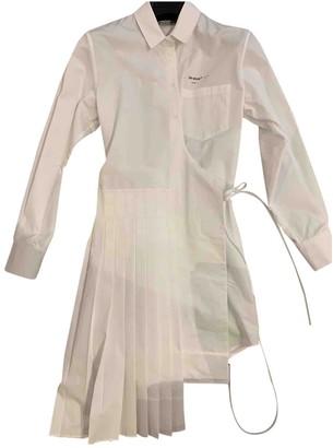 Off-White White Cotton Dresses