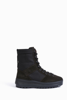 Yeezy Mixed Fabric Military Boots