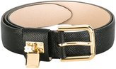 Dolce & Gabbana padlock belt - women - Leather - 80