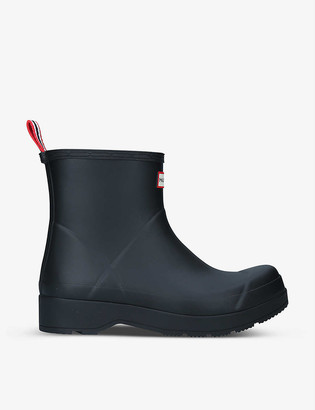 Hunter Original Play short rubber wellington boots