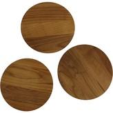 Enclume Cookware Stand Wood Trivets Set