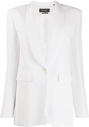 Isabel Marant Tuxedo Lapel Single-Breasted Blazer
