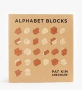 Areaware Alphabets Blocks