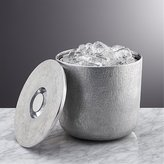 Crate & Barrel Glaze Ice Bucket