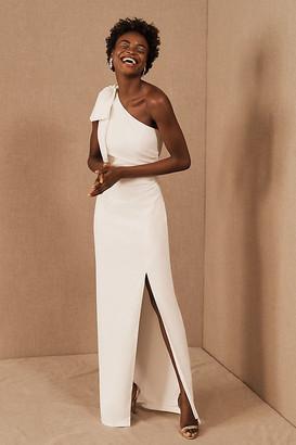 Anthropologie ML Monique Lhuillier x BHLDN Lionel Dress By in White Size 0