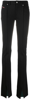 Diesel High-Rise Flared Trousers