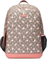 Gucci GG flowers diaper bag
