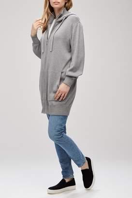 Backdrop Fashion Zip Hood Cardigan