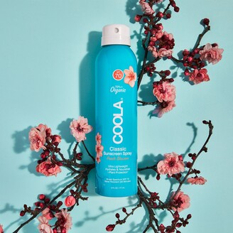 Coola Classic Body Organic Sunscreen Spray SPF 70 Peach Blossom
