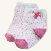 Ralph Lauren Girl Pin-Dot Crew Sock