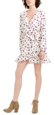 1 STATE 1.state Tie-Belted Flounce Dress