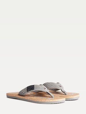 Tommy Hilfiger Braid Logo Beach Sandals