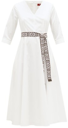 Max Mara Agrume Dress - Womens - Ivory