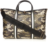 Pierre Hardy Camocube-print coated-canvas tote