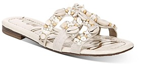 Sam Edelman Women's Bay 11 Slip On Strappy Sandals