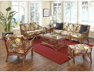 "Bayou Breeze Rainey 79"" Flared Arm Sofa Bayou Breeze Fabric: Clemens Noir Red, Frame Color: Brown"