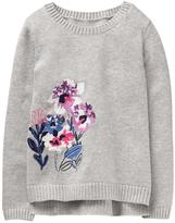 Gymboree Floral Sweater