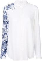 Equipment single printed arm shirt - women - Silk - S