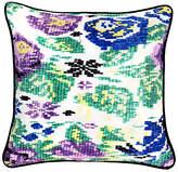 Archive New York Tecpan 18x18 Silk Pillow