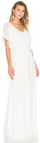 Hoss Intropia Flutter Sleeve Maxi Dress