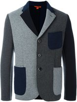 Barena contrast patch pockets blazer