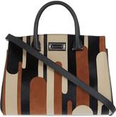 Max Mara Stripe leather handbag