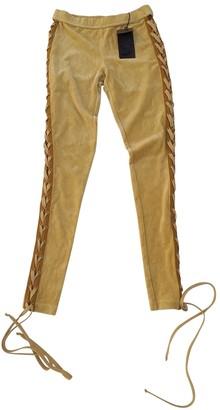FENTY PUMA by Rihanna Yellow Trousers for Women