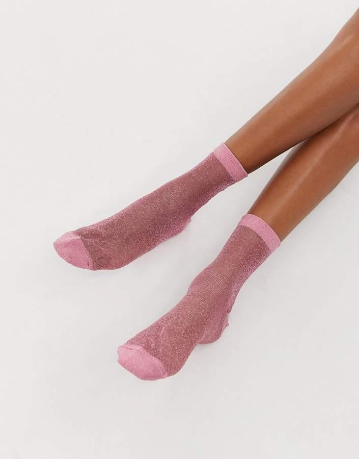dddc8bc86 Sheer Ankle Socks - ShopStyle