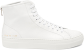 Common Projects Tournament zip-up high-top leather trainers