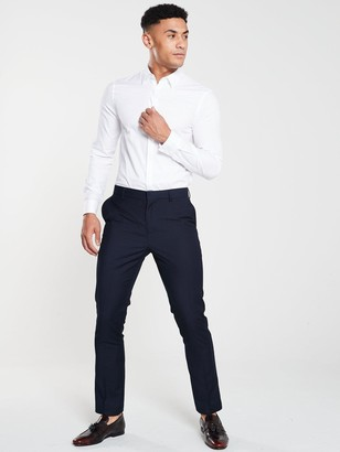 Very PV Slim Suit Trousers - Navy