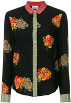 RED Valentino bouquet print blouse