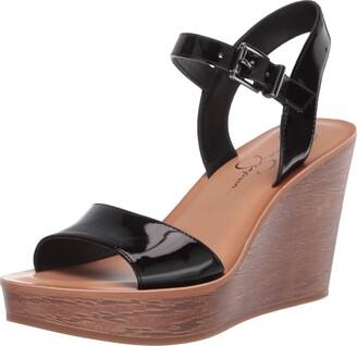 Jessica Simpson Womens Miercen Wedge Sandal