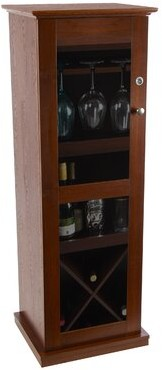 Red Barrel Studioâ® Damarus Locking Bar Cabinet Red Barrel StudioA