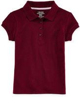 IZOD EXCLUSIVE IZOD Picot-Collar Polo - Preschool Girls 4-6x