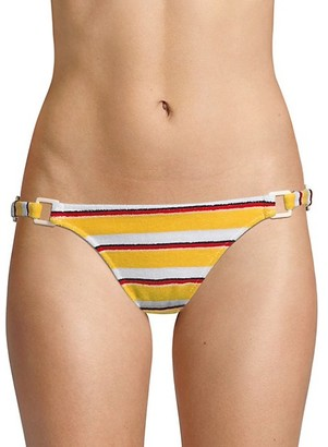 Solid And Striped The Tilda Striped Terry Ring Bikini Bottom