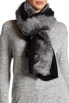 UGG R) Genuine Shearling Wool Blend Luxe Scarf