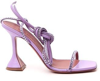 Amina Muaddi Vita Ankle Strap Sandals